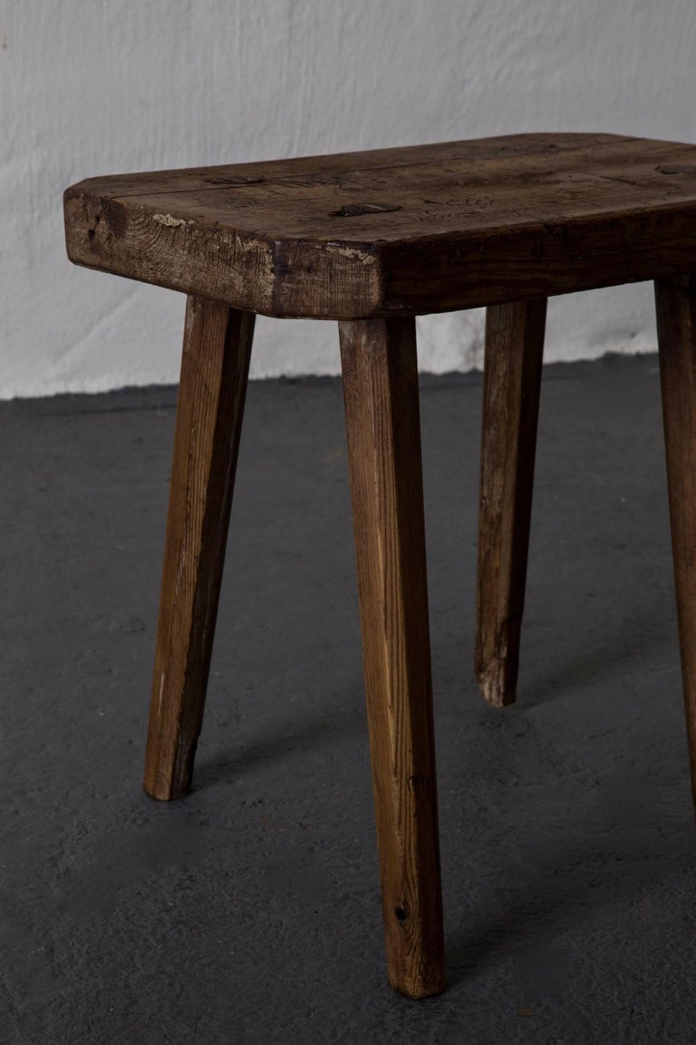 Stools Benches Swedish 19th Century, Sweden For Sale 1
