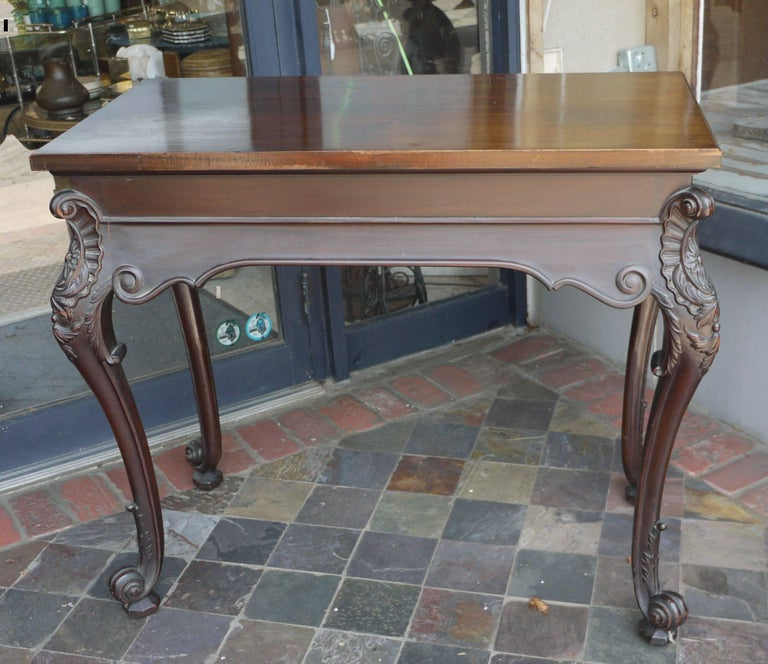 19th Century Irish Chippendale Console For Sale 2