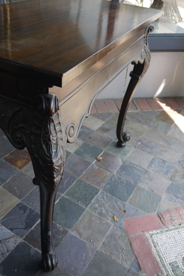 19th Century Irish Chippendale Console For Sale 3