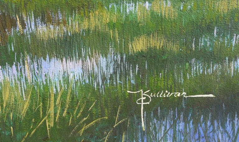 Painting of Myakka Lake Florida by Kent Sullivan 4