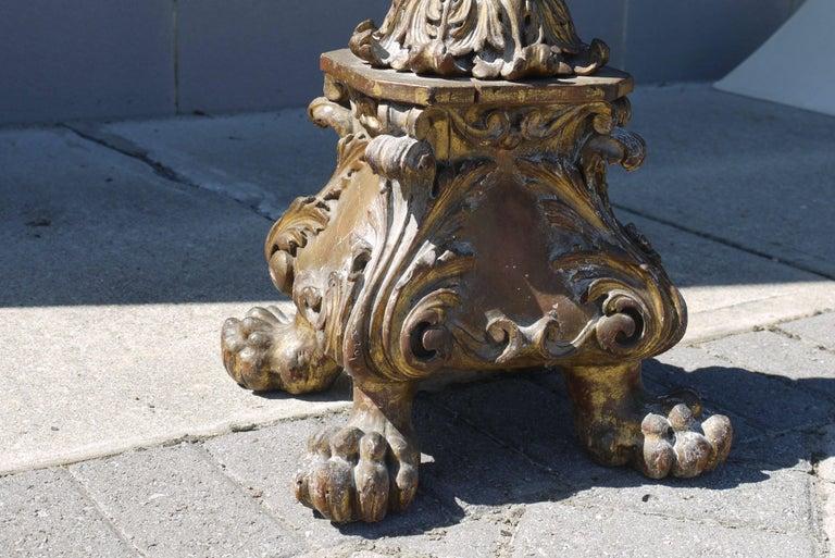 18th Century Spanish Pricket Floor Lamp 5