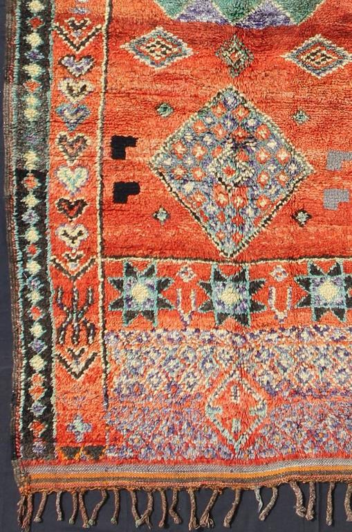 Vintage Moroccan Haouz Gallery Runner For Sale At 1stdibs