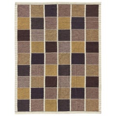 Large Contemporary Scandinavian Swedish Design Kilim Rug with Modern Design