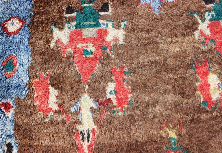 Colorful Antique Tulu Rug For Sale 4