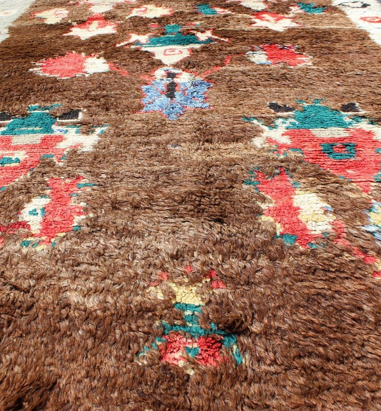 Colorful Antique Tulu Rug For Sale 8