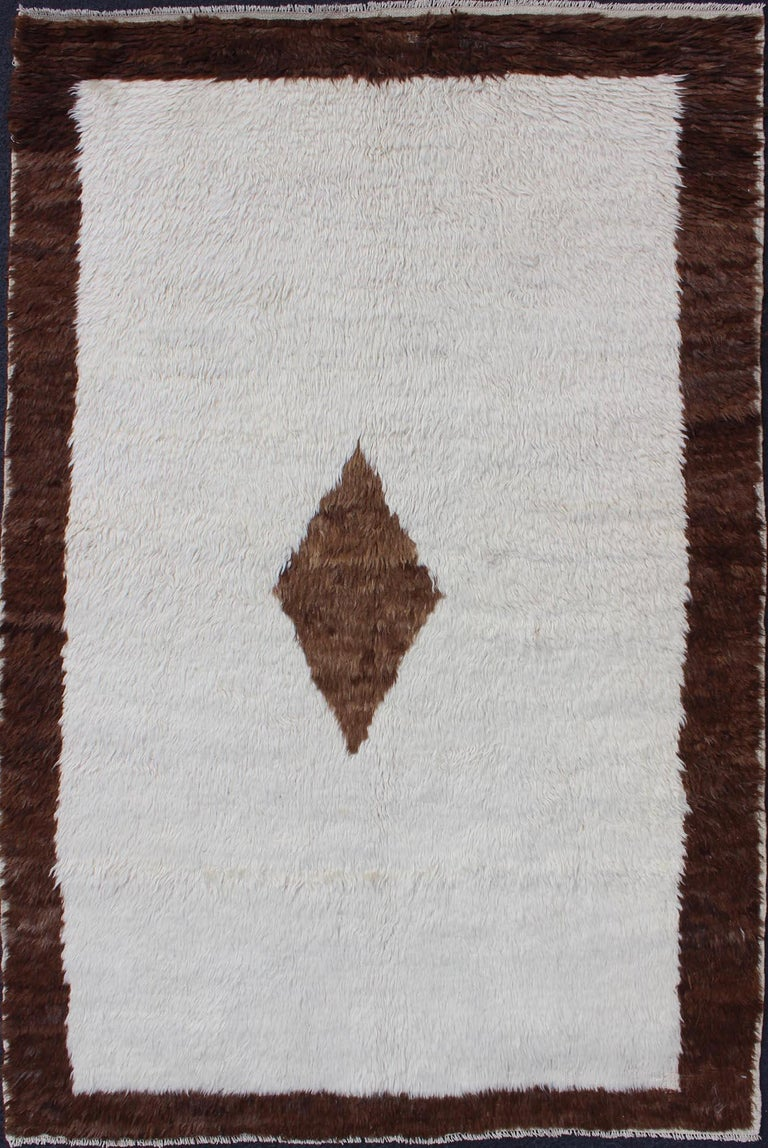 Antique Tulu rugs are some of the most beautiful textile creations in the entire world. They are soft, usually have undyed wool and are very shiny. They can be identified by their artistic details and luscious texture. Tulu rug patterns are unique