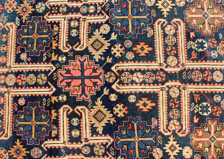 Russian Antique Caucasian Karaghashli Rug For Sale