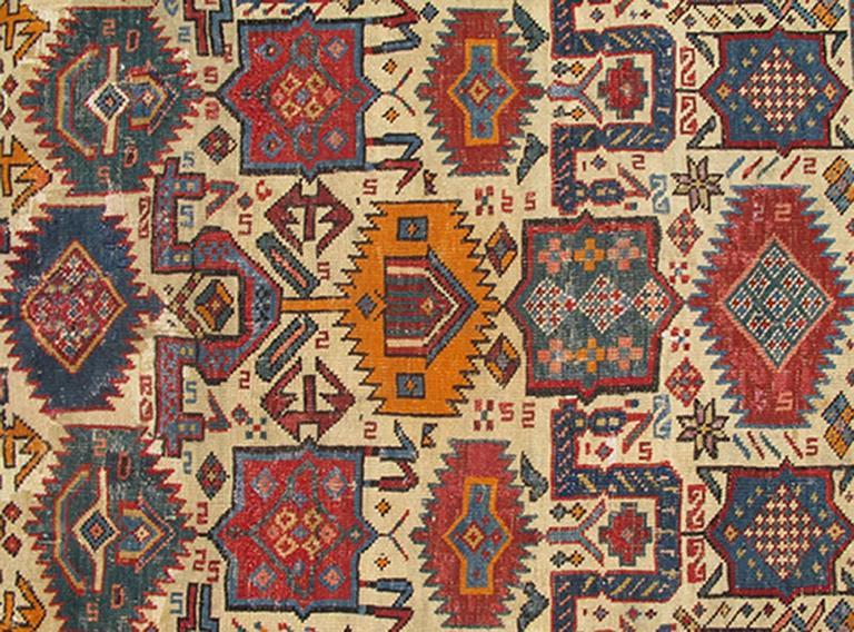 Antique Shirvan Caucasian Rug 2