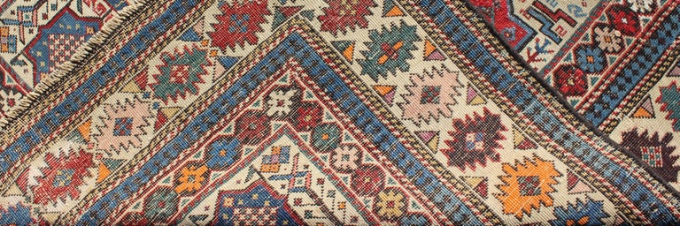 Late 19th Century Antique Shirvan Caucasian Rug For Sale