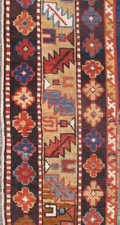 Antique Caucasian Qaraqashli Rug 4