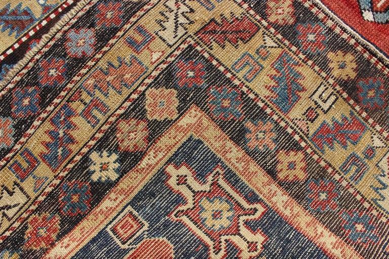 Antique Caucasian Qaraqashli Rug For Sale 1