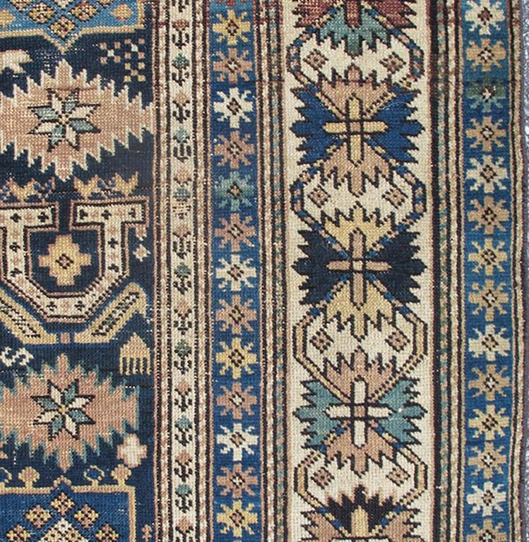 Antique Caucasian Shirvan Rug 4