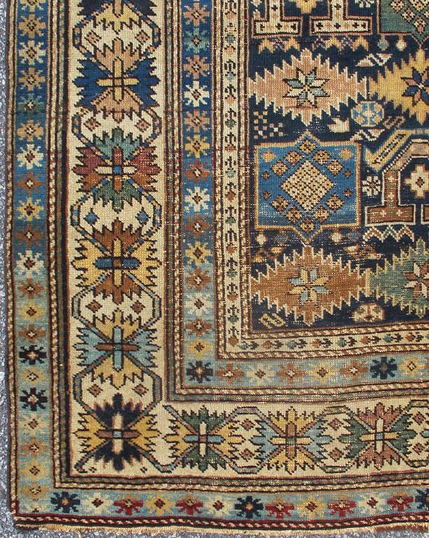 Antique Caucasian Shirvan Rug 2