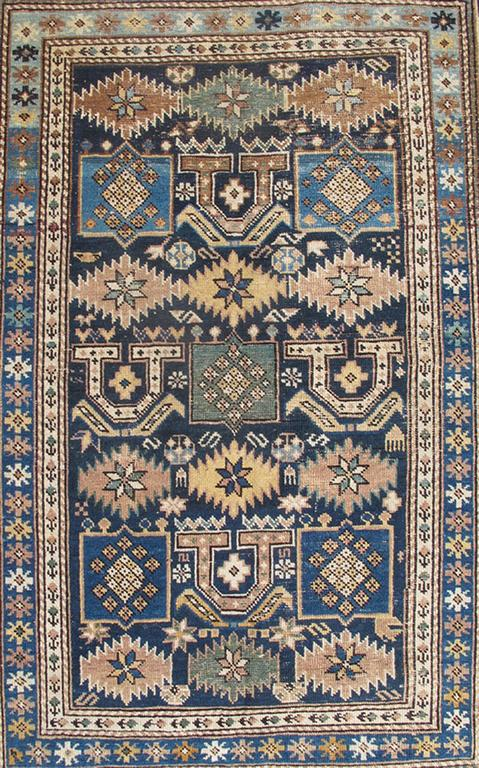 Antique Caucasian Shirvan Rug 5