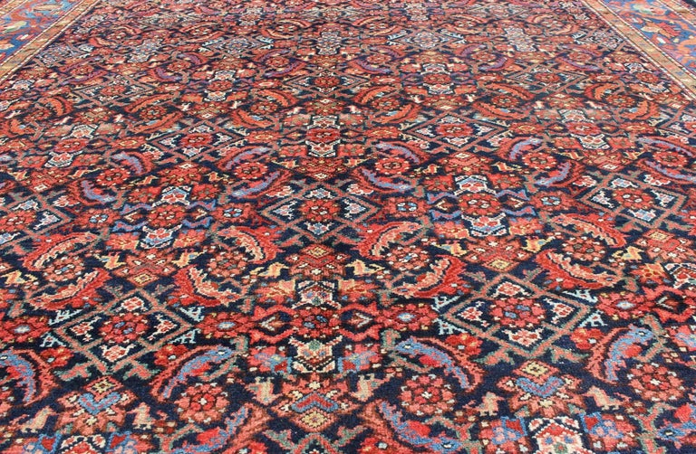 Antique Persian Malayer Rug For Sale 1