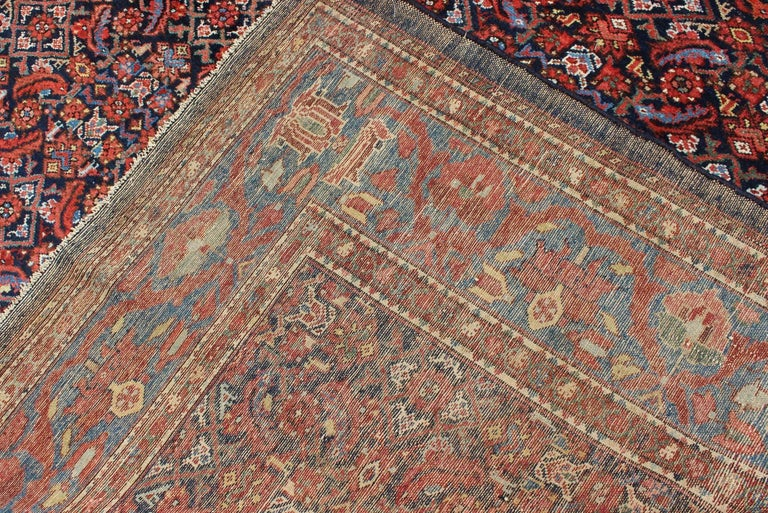 Antique Persian Malayer Rug For Sale 2