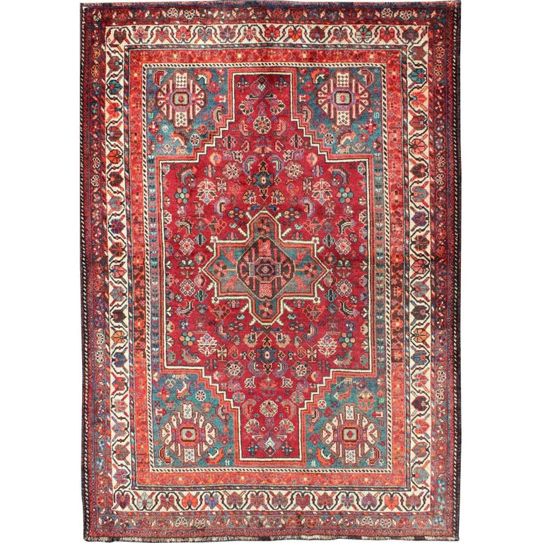 Tribal Persian Shiraz Rug