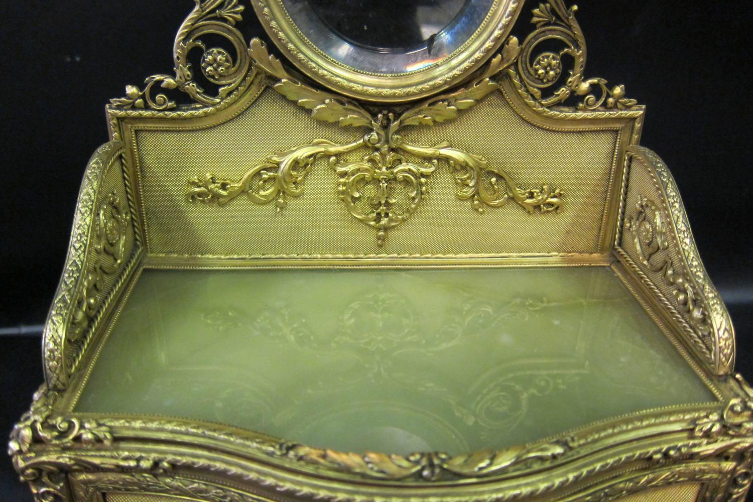 French Late 19th Century Ladies Jewel Box For Sale At