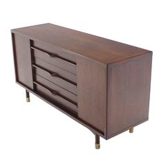 Medium Long Mid Century Dresser Credenza