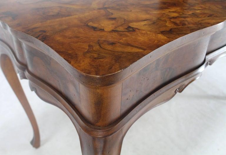 Patch Burl Wood Work Medium Size Low Profile Floating Desk