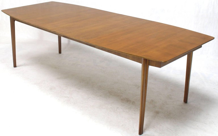 Widdicomb Walnut Dining Table w/ Two Extension Boards Leaves  For Sale 1