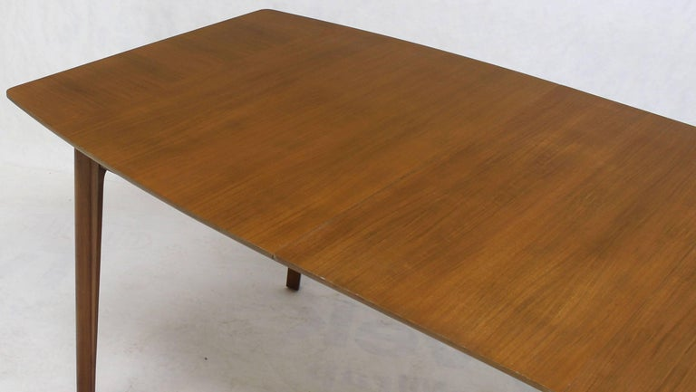 Widdicomb Walnut Dining Table w/ Two Extension Boards Leaves  For Sale 2
