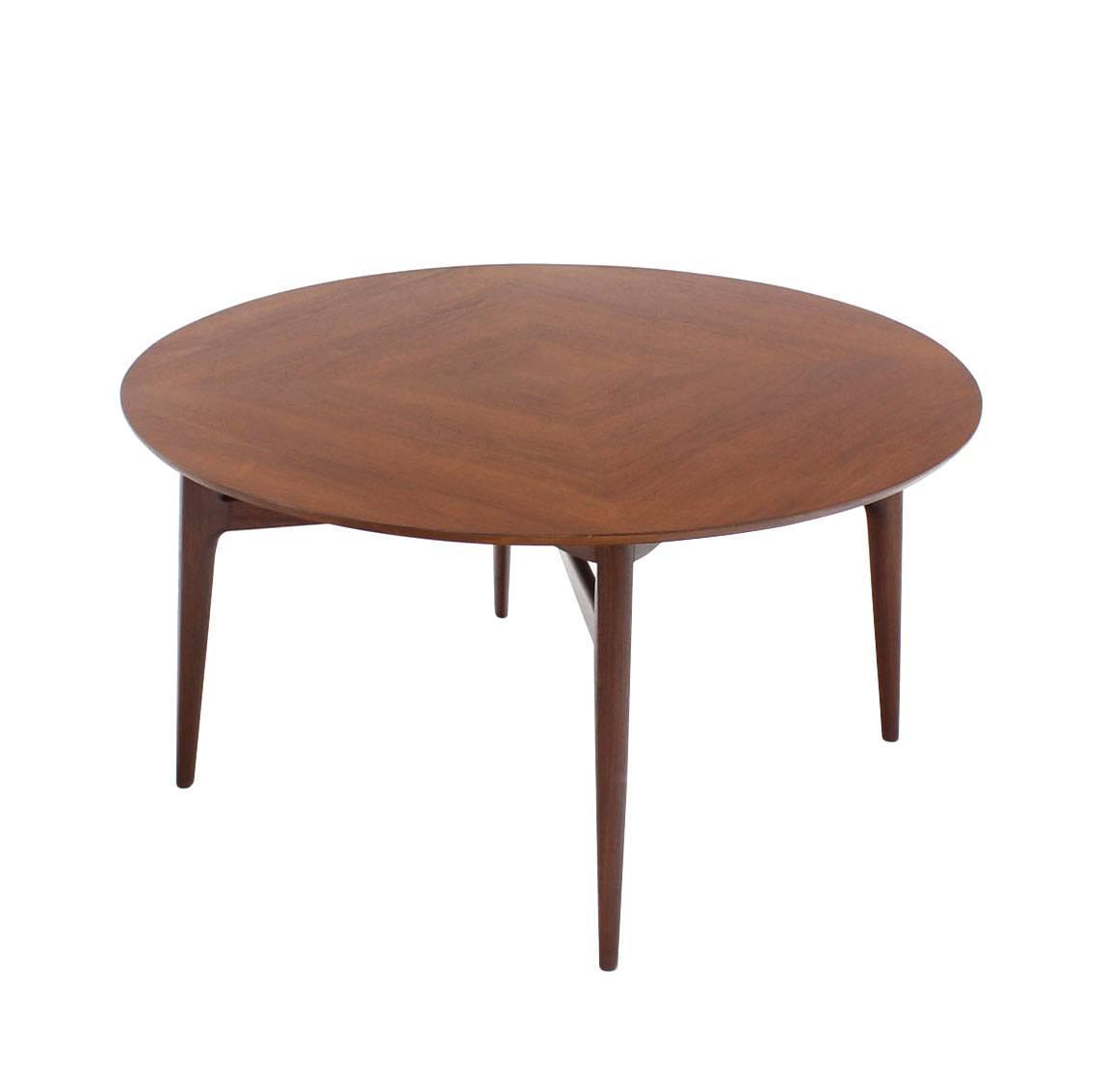 Danish Modern Round Game Table For Sale At 1stdibs