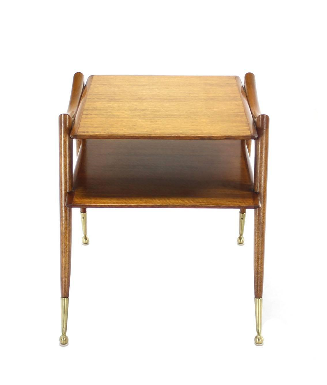 Mid Century Modern Sculptural Legs Side Table For Sale At