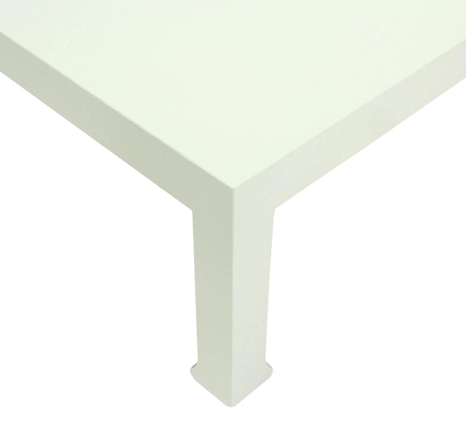 cloth covered square coffee table for sale at 1stdibs