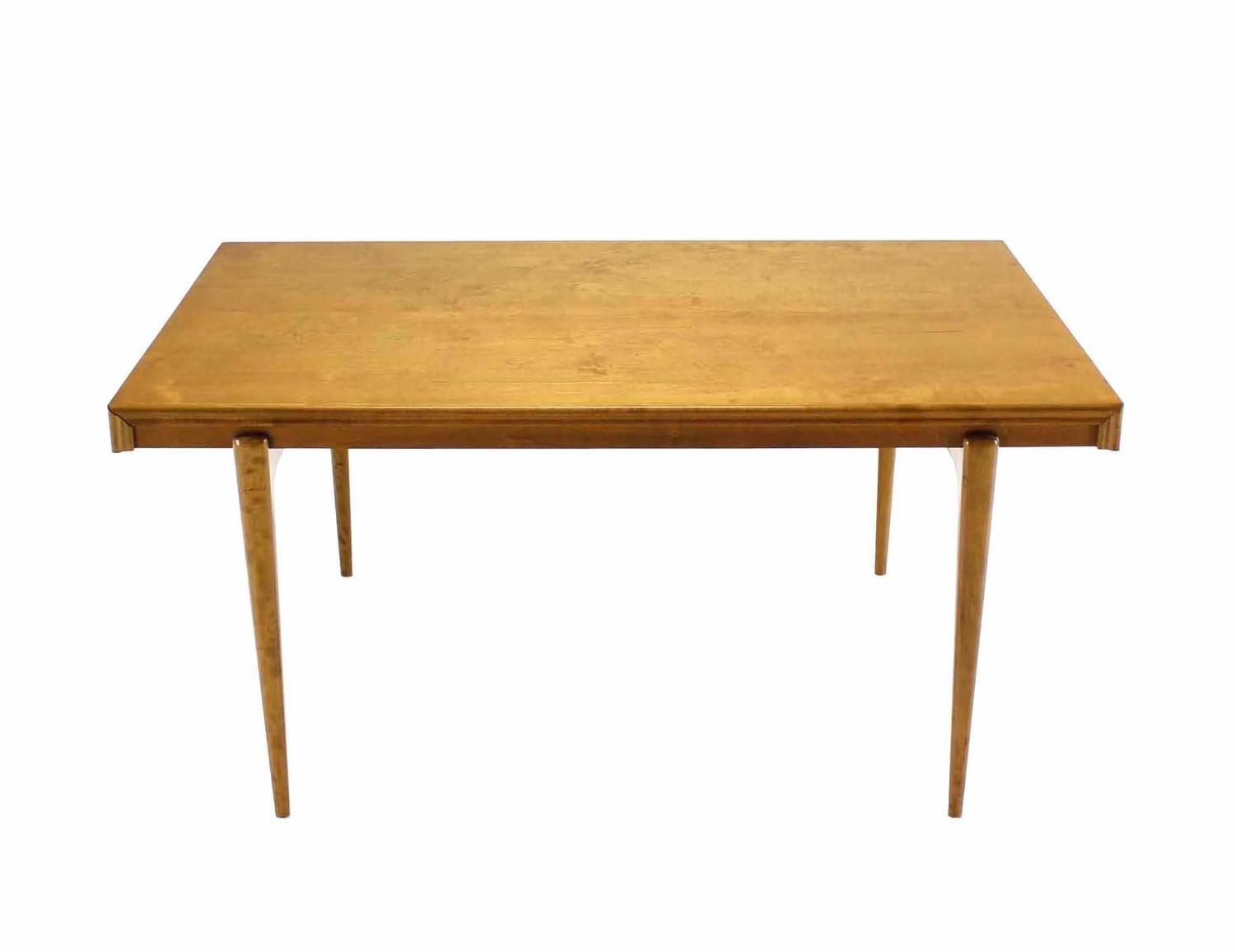 Swedish Blond Birch Dining Table By Edmond Spence For Sale