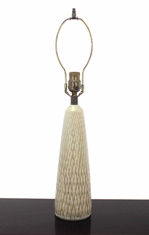 Casa cortes lush mosaic art glass 25 inch table lamps set of 2 - Vintage Art Glass Base Table Lamp At 1stdibs