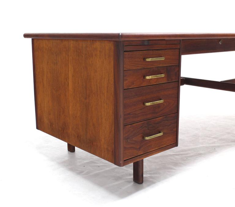 Mid-Century Modern Danish Mid Century Modern Boomerang Shape Desk For Sale