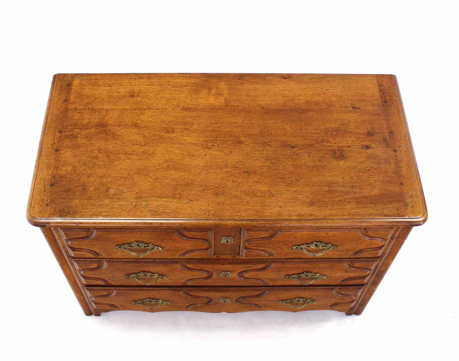 #A46227 Solid Wood Gothic Three Drawer Chest Of Drawers For Sale At 1stdibs with 1500x1181 px of Best Chest Of Drawers Solid Wood 11811500 image @ avoidforclosure.info