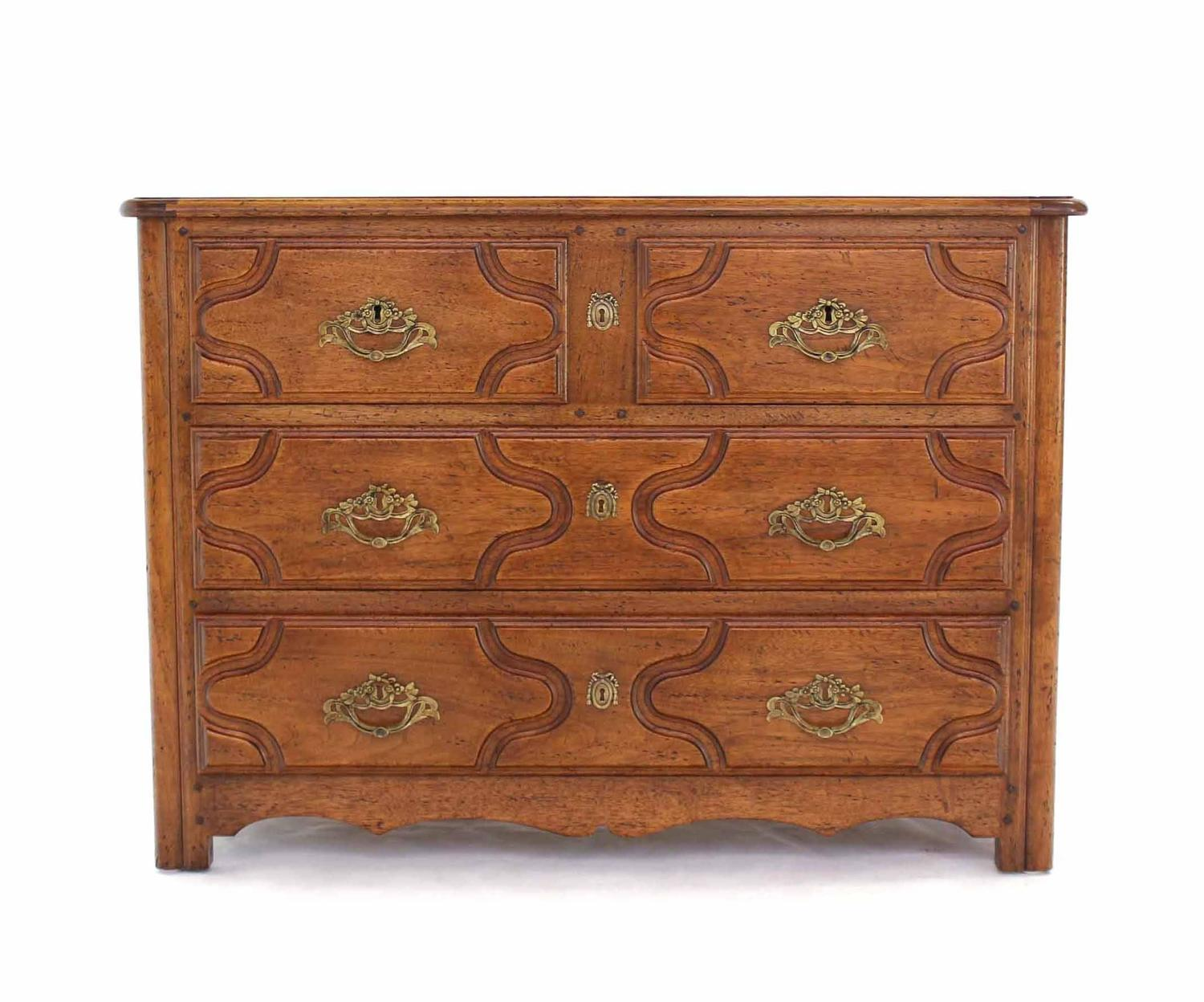 #83492C Solid Wood Gothic Three Drawer Chest Of Drawers For Sale At 1stdibs with 1500x1248 px of Best Chest Of Drawers Solid Wood 12481500 image @ avoidforclosure.info