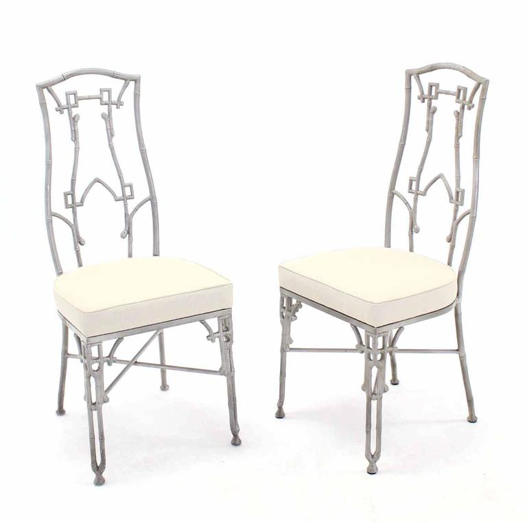 mid century modern six chairs and table dining set for sale at 1stdibs