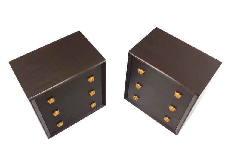 Pair of very nice mid-century modern bachelor chests.