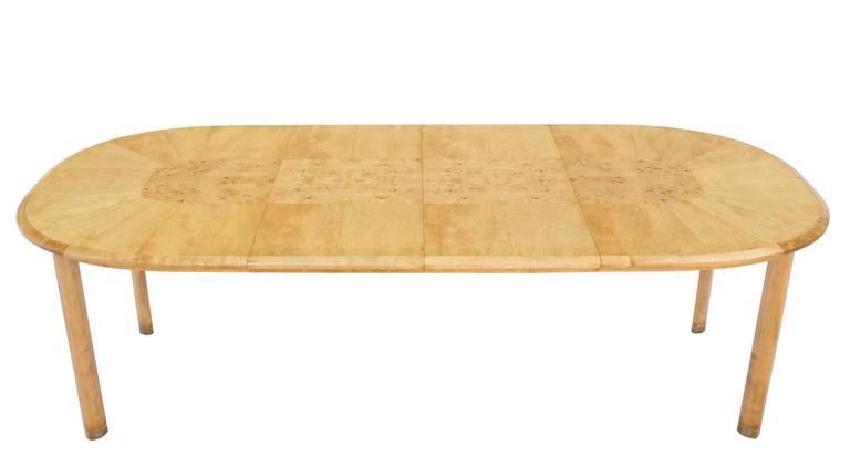 Nice Mid-Century Modern dining table 2x18