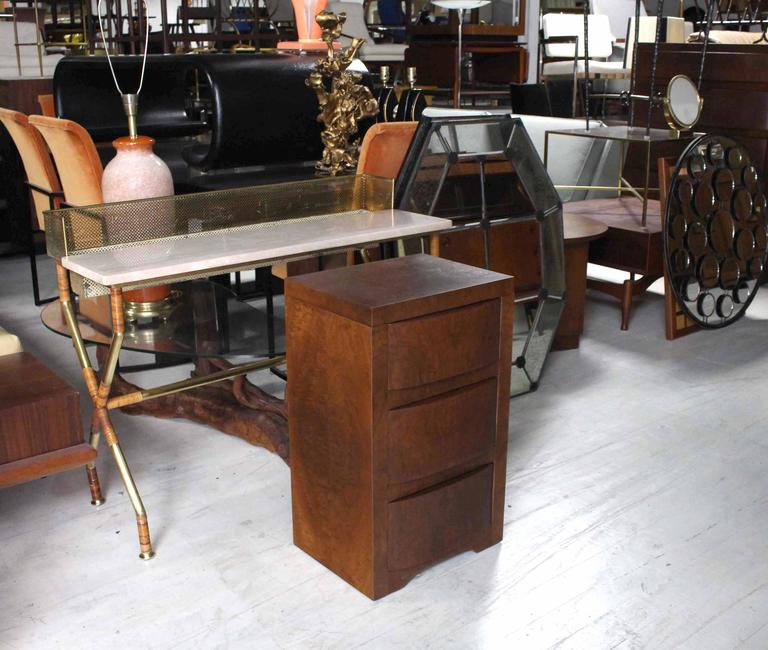 Burwood Mid-Century Art Deco nightstand or end table.