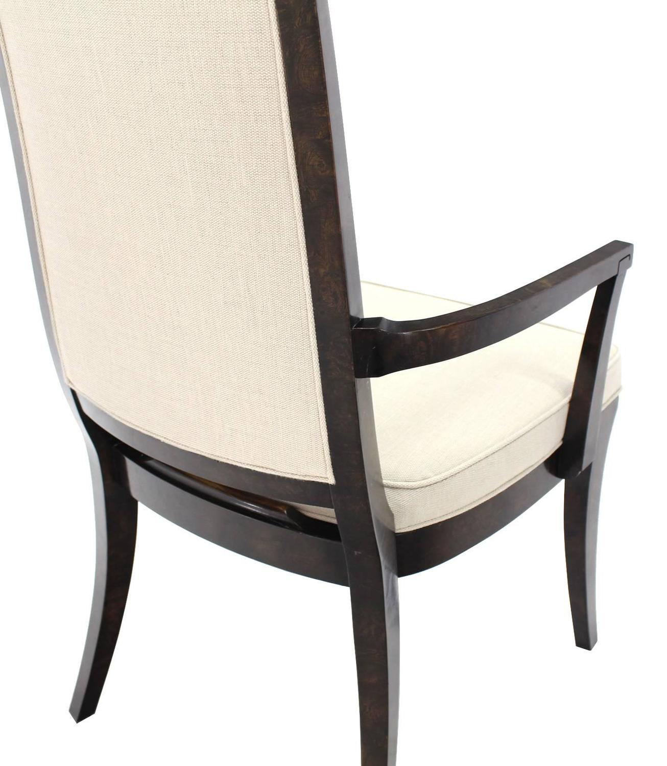 Set Of Six Mid Century Modern Mastercraft Dining Chairs New Upholstery For Sa