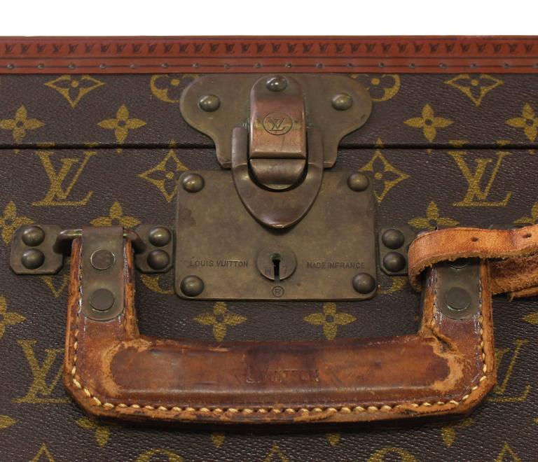Mid-Century Modern Louis Vuitton Suit Case For Sale