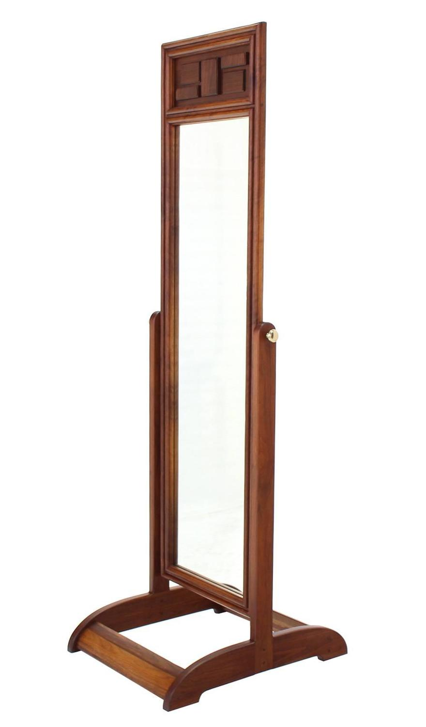 Walnut cheval mirror for sale at 1stdibs for Floor length mirror for sale