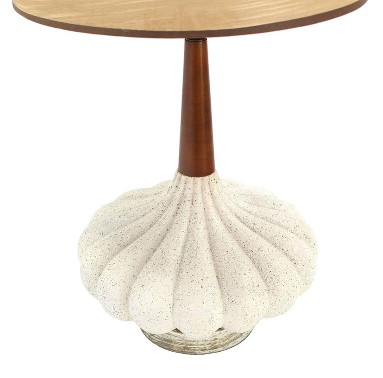 Metal Lamp Cone Shade: Danish Modern Cone Shape Shade Table Lamp For Sale At 1stdibs