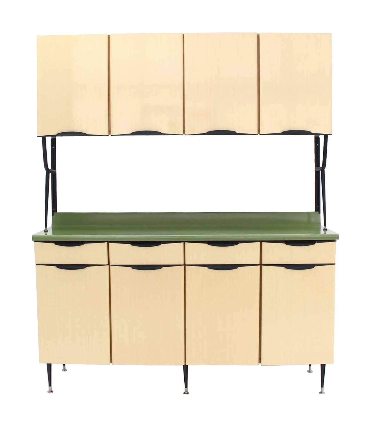 Mid Century Italian Modern Kitchen Cabinet For Sale At 1stdibs