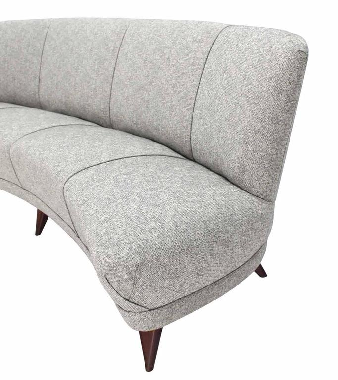New Upholstery Curved Cloud Sofa For Sale At 1stdibs