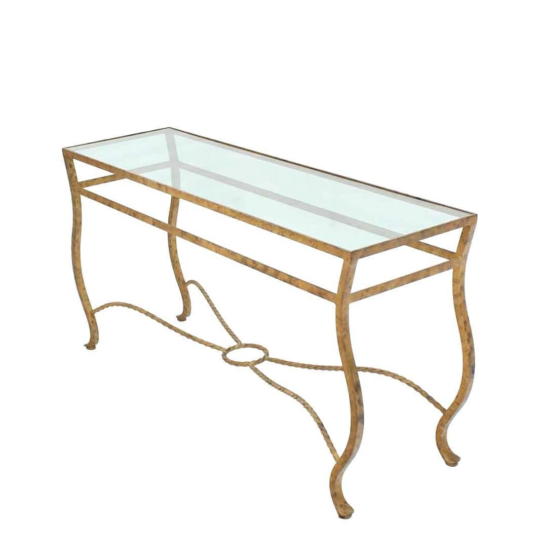 Pair of ornate gold finish console tables for sale at 1stdibs - Ornate hall table ...