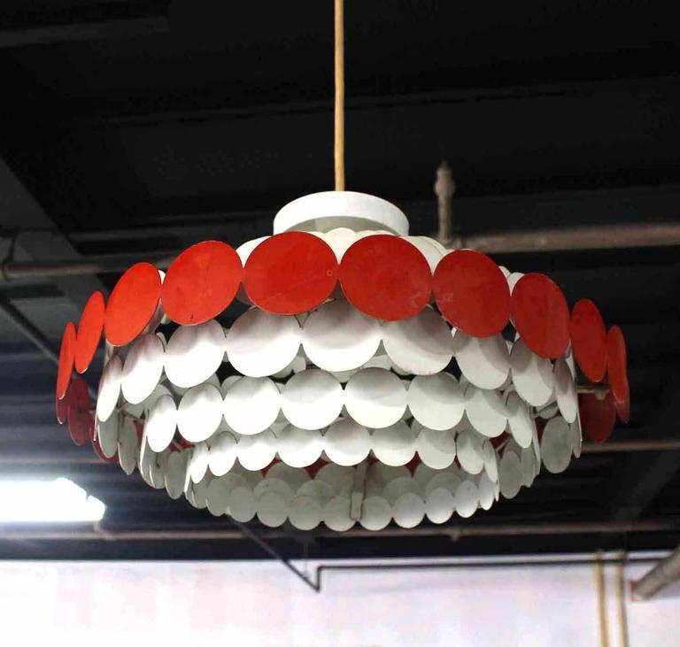 20th Century Mid-Century Light Fixture For Sale