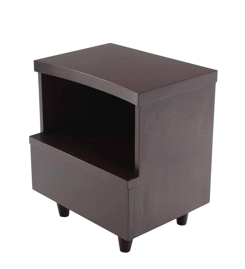Pair of mid century modern nightstands for sale at 1stdibs for Modern nightstands for sale