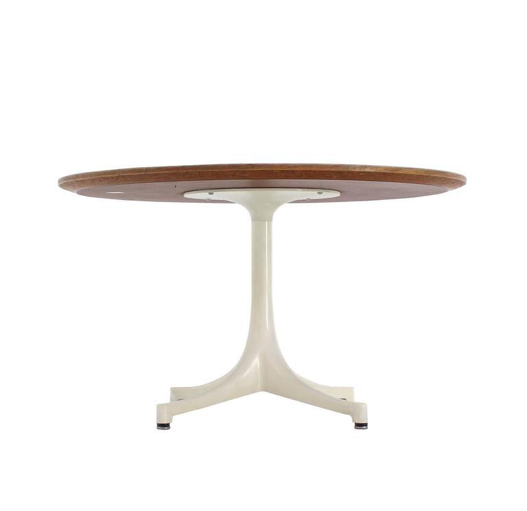 Herman miller eames round side table for sale at 1stdibs - Eames table herman miller ...