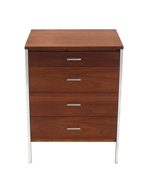 Four Drawers Small Petit Narrow  Bachelor Chest 2