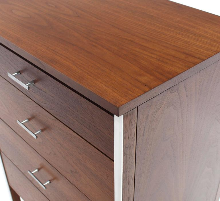 Four Drawers Small Petit Narrow  Bachelor Chest 6